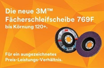 3M Fächerschleifscheibe 769F