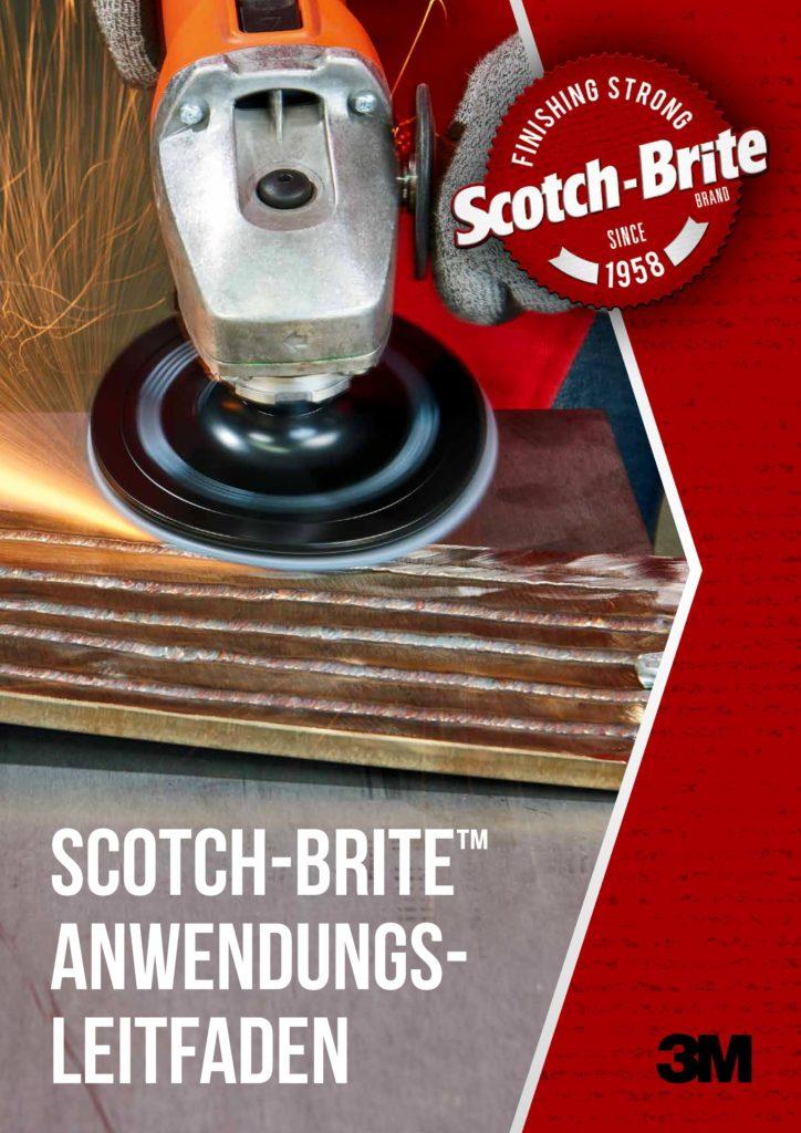 Titelseite des 3M Scotch-Brite Anwendungsleitfaden