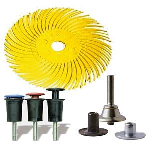 3M Radial Bristle Brush RB-ZB Typ C mit Spanndorne