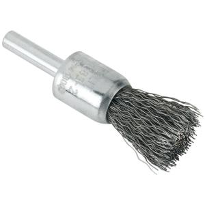 TYROLIT Pinselbürste mit Schaft gewellt für Stahl